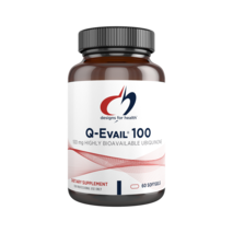 Q-Evail® 100 mg, 60 softgels